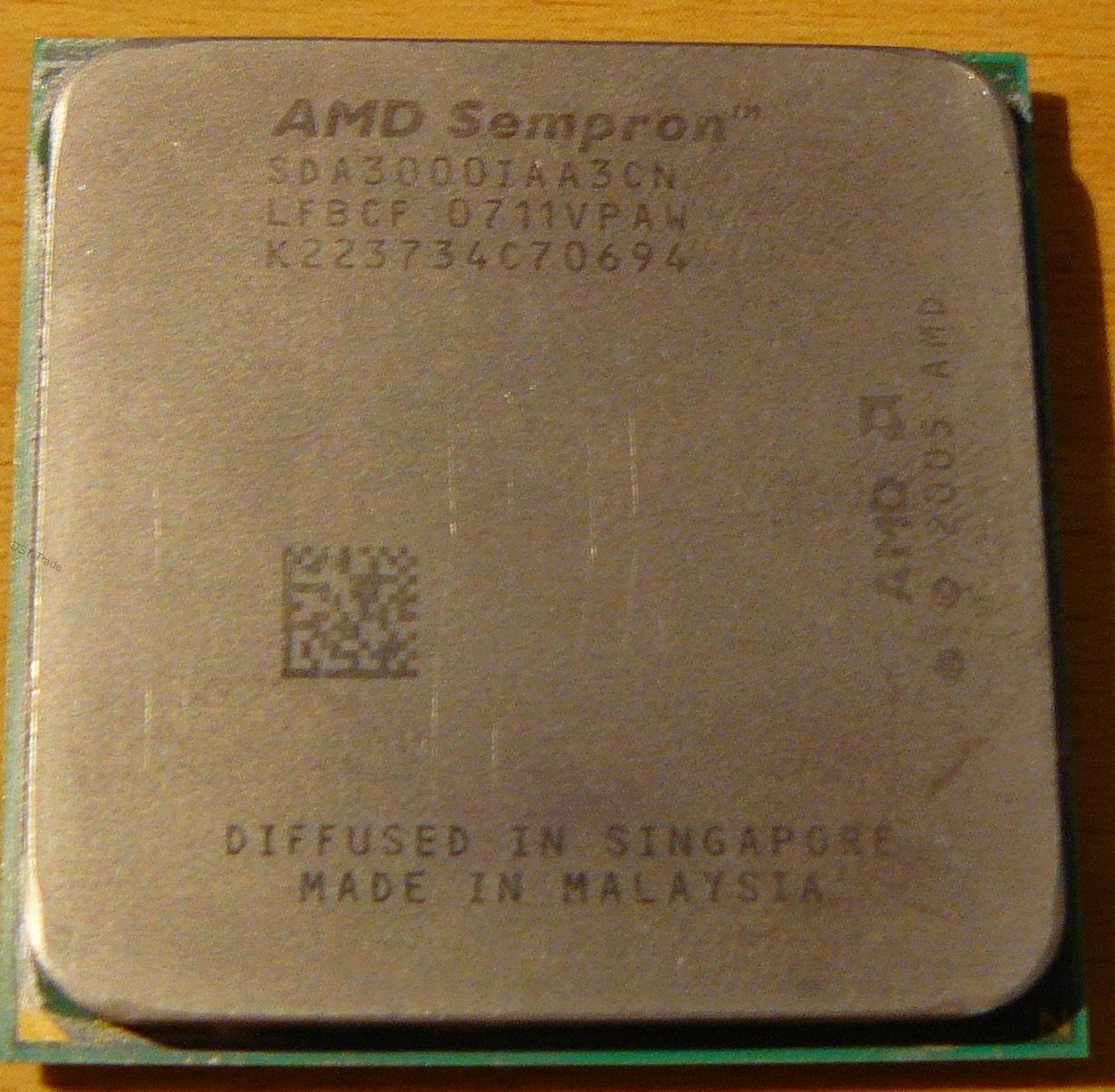 Процессор AMD Sempron 3000-3600 Socket AM2