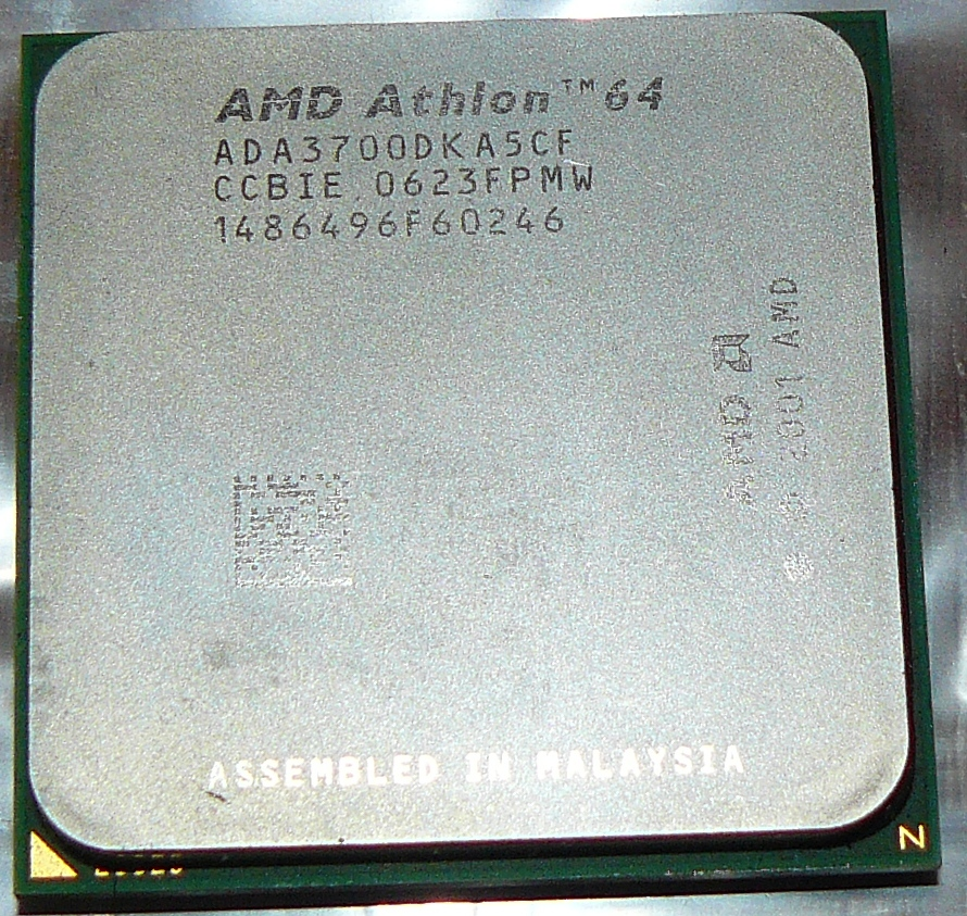 Процессор AMD Athlon 64 3200 Socket 939